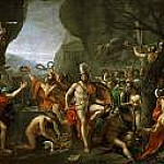 Jacques-Louis David - Leonidas at Thermopylae