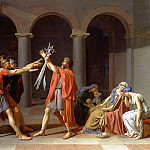 Oath of the Horatii, Jacques-Louis David