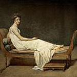 Mme Recamier, Jacques-Louis David