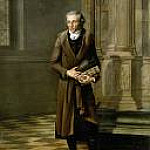 Alexandre Lenoir, founder of the Musee des Monuments Francais, Jacques-Louis David