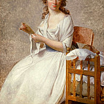Jacques-Louis David - Portrait of Madame Adelaide Pastoret
