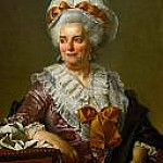 Genevieve Jacqueline Pecoul, the painter's mother-in-law, Jacques-Louis David