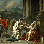 Jacques-Louis David - Belisarius asking for alms