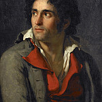 Presumed portrait of his jailer, Jacques-Louis David