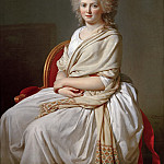 Anne-Marie-Louise Thélusson, Comtesse de Sorcy, Jacques-Louis David