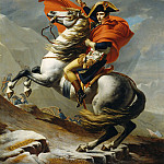 Bonaparte Crossing the Grand Saint-Bernard Pass, 20 May 1800