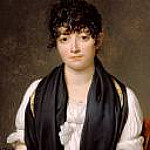 Jacques-Louis David - Portrait of Suzanne Le Peletier de Saint-Fargeau