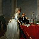 Antoine-Laurent Lavoisier and His Wife , Jacques-Louis David