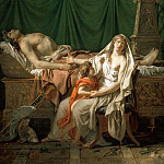 The Tears of Andromache, Jacques-Louis David