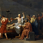 The Death of Socrates, Jacques-Louis David