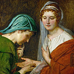 Jacques-Louis David - The Fortuneteller