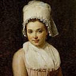 Jacques-Louis David - Jeanne Tallard (1772-1825), wife of Francois Lamy