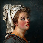 Jacques-Louis David - Young Woman with a Turban