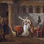 Jacques-Louis David - The Lictors Returning to Brutus the Bodies of his Sons. Study