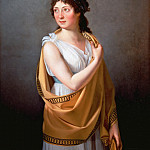 Jacques-Louis David - Portrait of a woman (attr.)