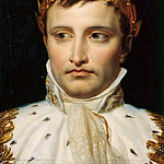 Jacques-Louis David - Study of the head for a portrait of Napoleon I in coronation costume
