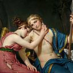 Jacques-Louis David - The Farewell of Telemachus and Eucharis