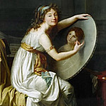 Jacques-Louis David - Mlle Ducreux