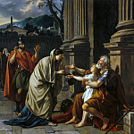 Belisarius asking for alms, Jacques-Louis David
