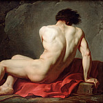 Male Nude known as Patroclus, Jacques-Louis David