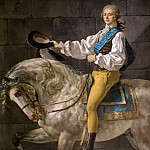 Count Stanislas Potocki, Jacques-Louis David