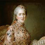 Francois-Hubert Drouais - Sophie of France, called Madame Sophie (1744-1782)