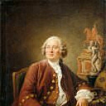 Francois-Hubert Drouais - Portrait of sculptor Edme Bouchardon (1698-1762)