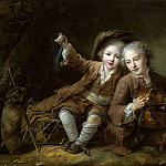 Francois-Hubert Drouais - Children of the Duke of Bouillon