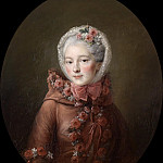 Portrait of a Young Lady, traditionally identified as Princess Natalia Petrovna Galitzin, Francois-Hubert Drouais