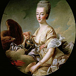The Dauphiness Marie-Antoinette as Hebe, Francois-Hubert Drouais