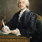 Francois-Hubert Drouais - Portrait of Denis-Paul Le Pot de la Fontaine