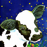 Jane Dyer - Time For Bed Tb 0005 Little Calf