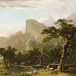 Asher Brown Durand - Landscape Scene From Thanatopsis