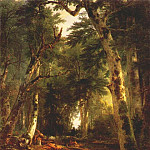Asher Brown Durand - in the woods 1855