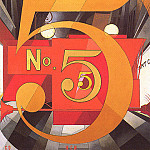Charles Demuth - I Saw The Figure5 In Gold