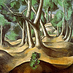 Andre Louis Derain - Grove, 1912, oil on canvas, The Hermitage, St. Peters
