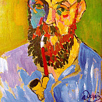 Andre Louis Derain - Portrait of Matisse 1905