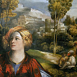 Dosso Dossi - Circe (or Melissa) (detail)