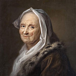 Christian Ezdorf - Portrait of an Old Lady
