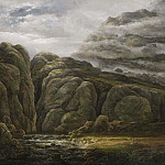 Allaert van Everdingen - Norwegian Mountain Landscape