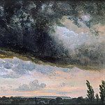 Franz Ludwig Catel - Cloud study