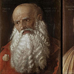 Raffaello Sanzio da Urbino) Raphael (Raffaello Santi - The apostles James and Philip