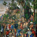 The Martyrdom of the Ten Thousand, Albrecht Dürer