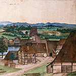 Albrecht Dürer - Wire-Drawing Mill