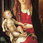 Virgin and Child before an Archway, Albrecht Dürer