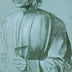 Albrecht Dürer - Portrait of the Architect Hieronymus von Augsburg