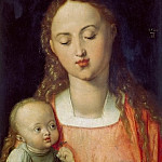 Albrecht Dürer - Madonna of the Pear