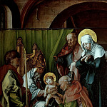 Albrecht Dürer - The Seven Sorrows of the Virgin - Circumcision of Christ