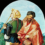Albrecht Dürer - The Jabach Altarpiece - Two Musicians