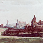 View of the town of Nuremberg from the west, Albrecht Dürer